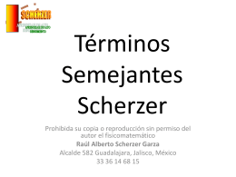 Sumas Scherzer