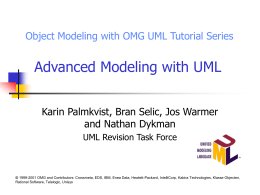 Behavioral Modeling with UML
