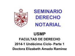 SEMINARIO DERECHO NOTARIAL