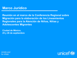 UNICEF DRTV WORKSHOP - Conferencia Regional sobre …