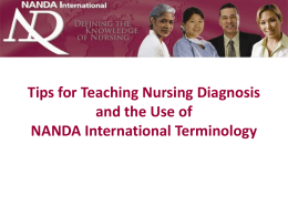 Tips for Teaching Nursing Diagnosis and the Use of …