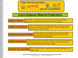 Diapositiva 1 - Scouts || Provincia Nuevo Leon