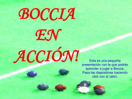 Boccia in Action (english)