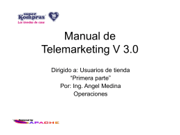Manual de usuario - TIENDA EN LINEA DE SUPER …