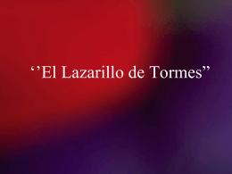 """El Lazarillo de Tormes"""""""