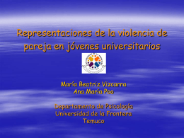 Partner Violence in University students