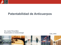 Patentability of Antibodies and related case law