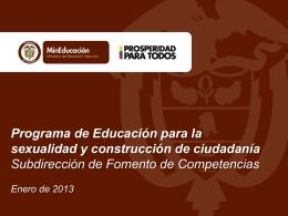 Diapositiva 1 - :: PROFAMILIA EDUCA