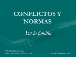 NORMAS Y CONFLITOS