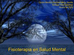 Fisioterapia en Salud Mental - AEF-SM