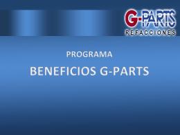 PLANTILLA 3 - G-Parts Refacciones, Garantiza la