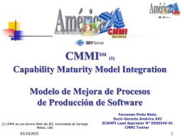 Curso Introduccion al CMM