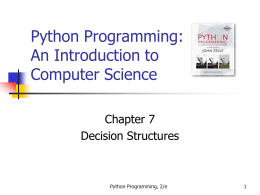 Python Programming: An Introduction to Computer …