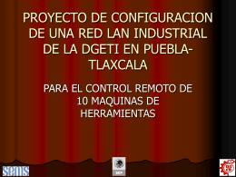 PROYECTO DE CONFIGURACION DE UNA RED LAN …