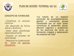 Proyecto tutoria 09/10