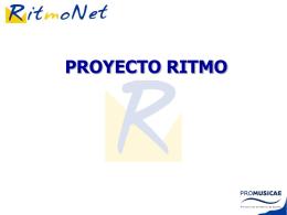 PROYECTO RITMO