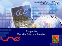 Proyecto Moodle Educa Pereira