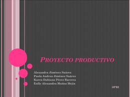 Proyecto productivo Bisuteria Skarpy