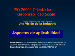 iso 26000 applicability aspects