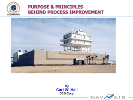 Purpose_Principles Process Improvement