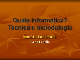 TFA A042 Sapienza