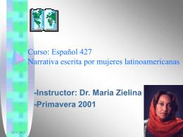 Autoras latinoamericanas