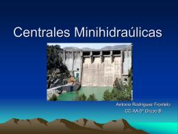 Centrales Minihidraulicas