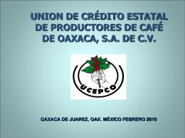 UCEPCO S.A. DE C.V.