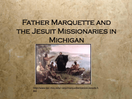 Father Marquette and the Jesuit Missionaries in Michigan