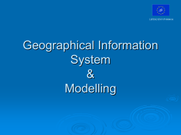Geographical Information System & Modelling