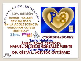"""Diapositiva 1 - ENP Plantel 8 """"Miguel E. Schulz"""""""