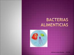 Bacterias Alimenticias