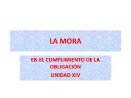 LA MORA - Estudio de Abogados Parellada & Asociados