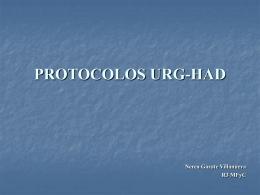 PROTOCOLOS URG-HAD