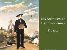 Los Animales de Henri Rousseau