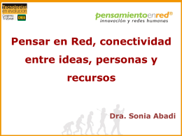 Diapositiva 1 - Congreso Trizonal CREA