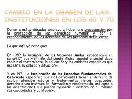 CAMBIO EN LA IMAGEN DE LAS INSTITUCIONES EN LOS …