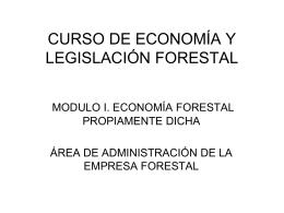 AREA DE ADMINISTRACION DE LA EMPRESA FORESTAL
