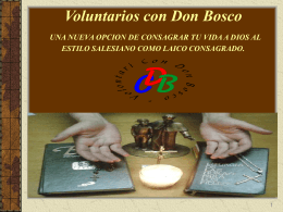 Voluntarios de Don Bosco CDB
