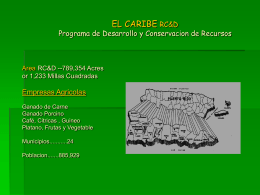 EL ATLANTICO RESOURCE CONSERVATION & …
