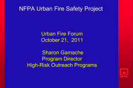 WHAT IS NFPA?