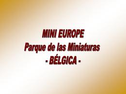 Mini Europa-Parque_de las_Miniaturas