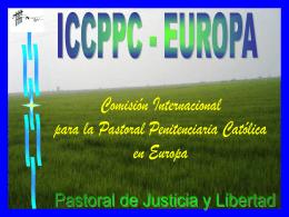 Diapositiva 1 - PPC-EUROPE | PRISON PASTORAL CARE …