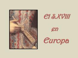 El siglo XVIII en Europa