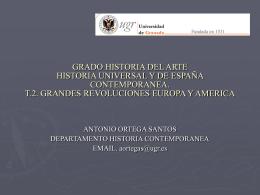 GRADO HISTORIA DEL ARTE PROFESOR ANTONIO …