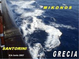 Mikonos & Santorini