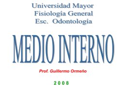 Medio Interno - Odontologia 2007 Umayor