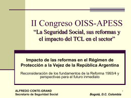 XIII Congreso Iberoamericano de Seguridad Social