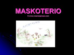 MASKOTERIO