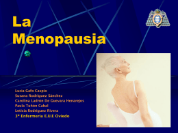 La Menopausia - Universidad de Oviedo